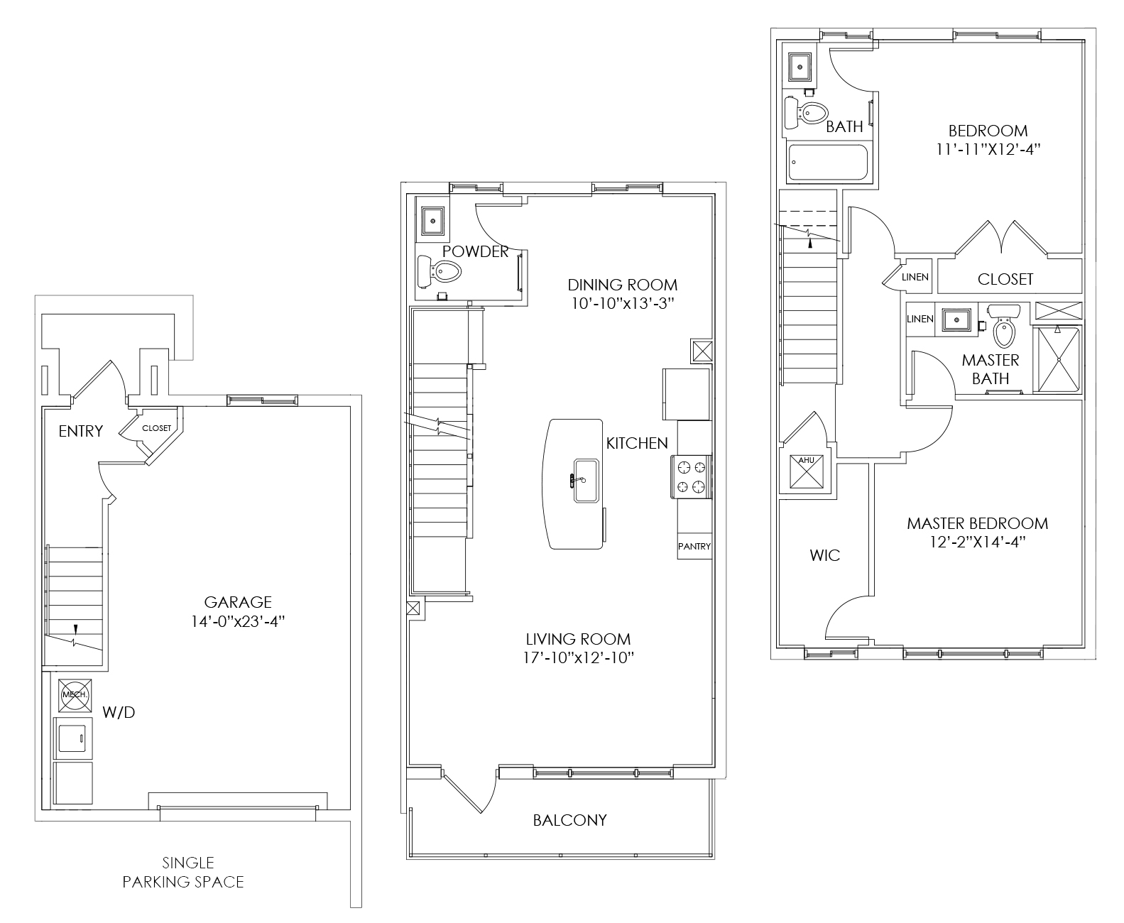 TH3 Floor Plan