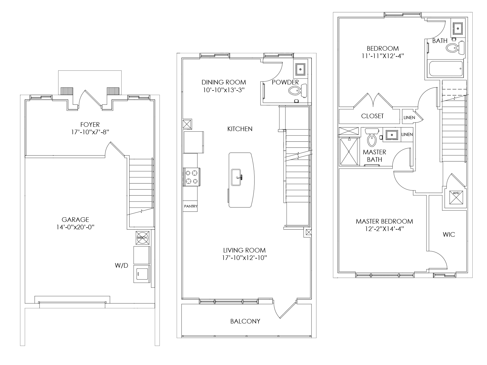 TH1 Floor Plan