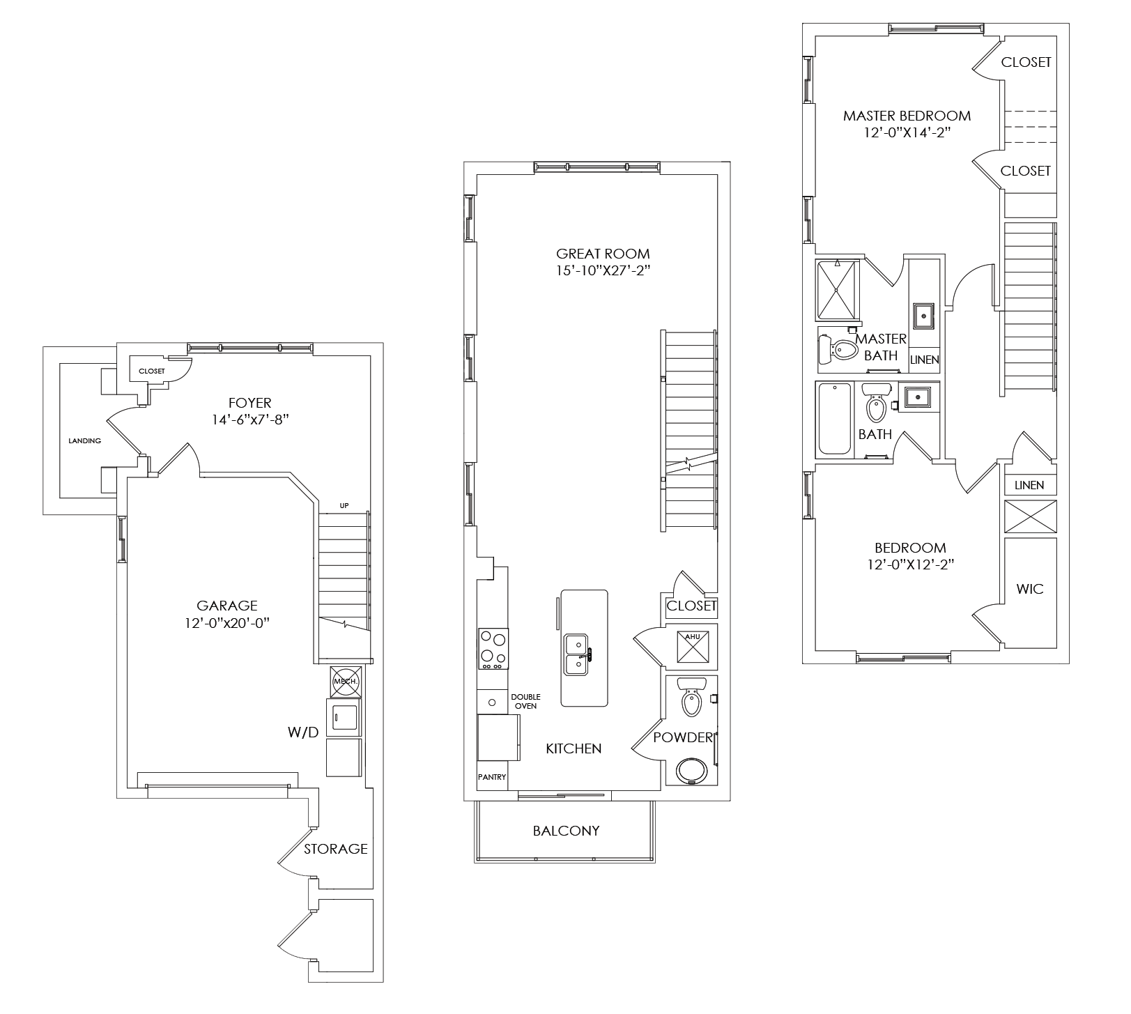 TH2 Floor Plan