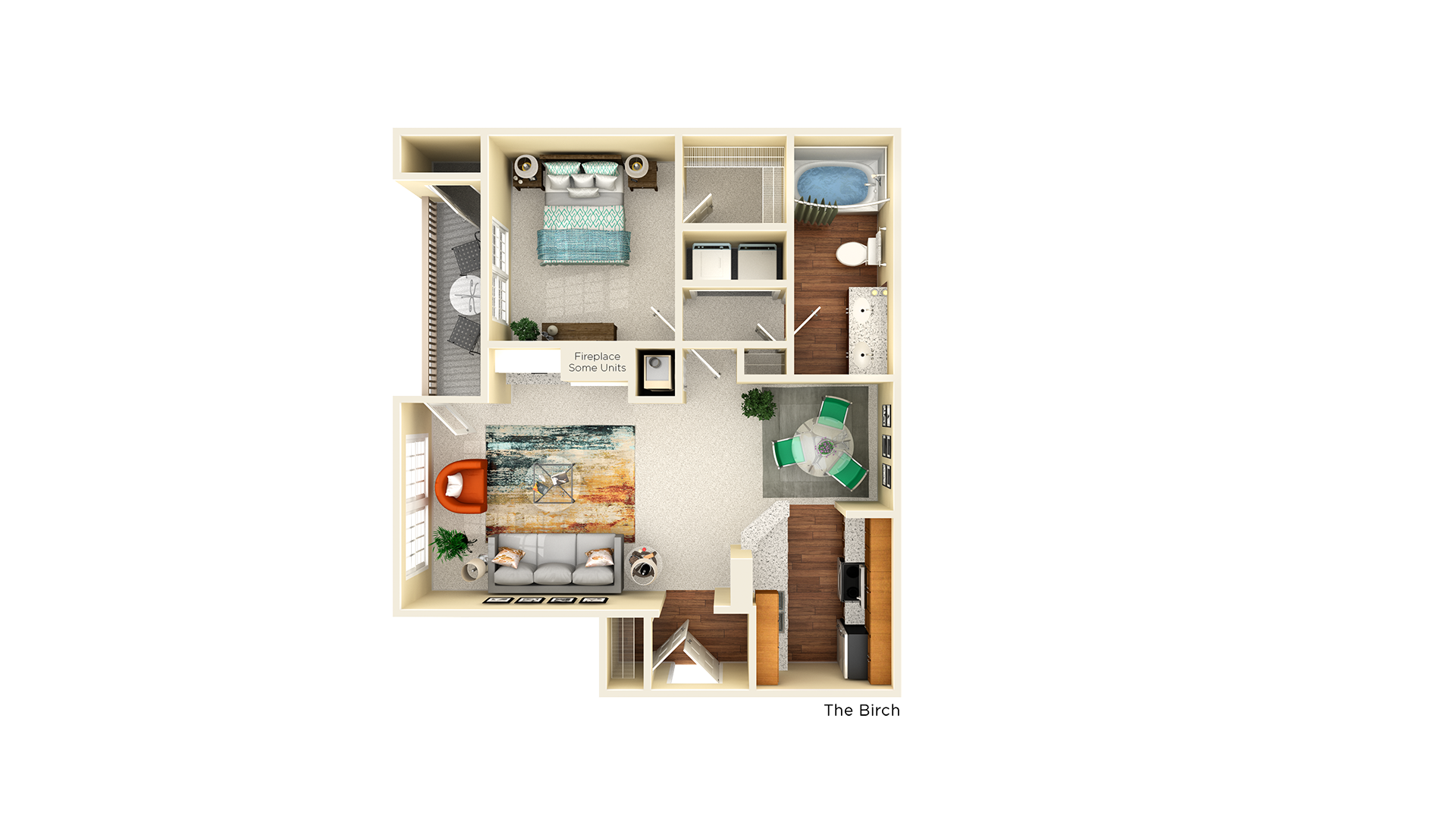 A1 birch floor plan