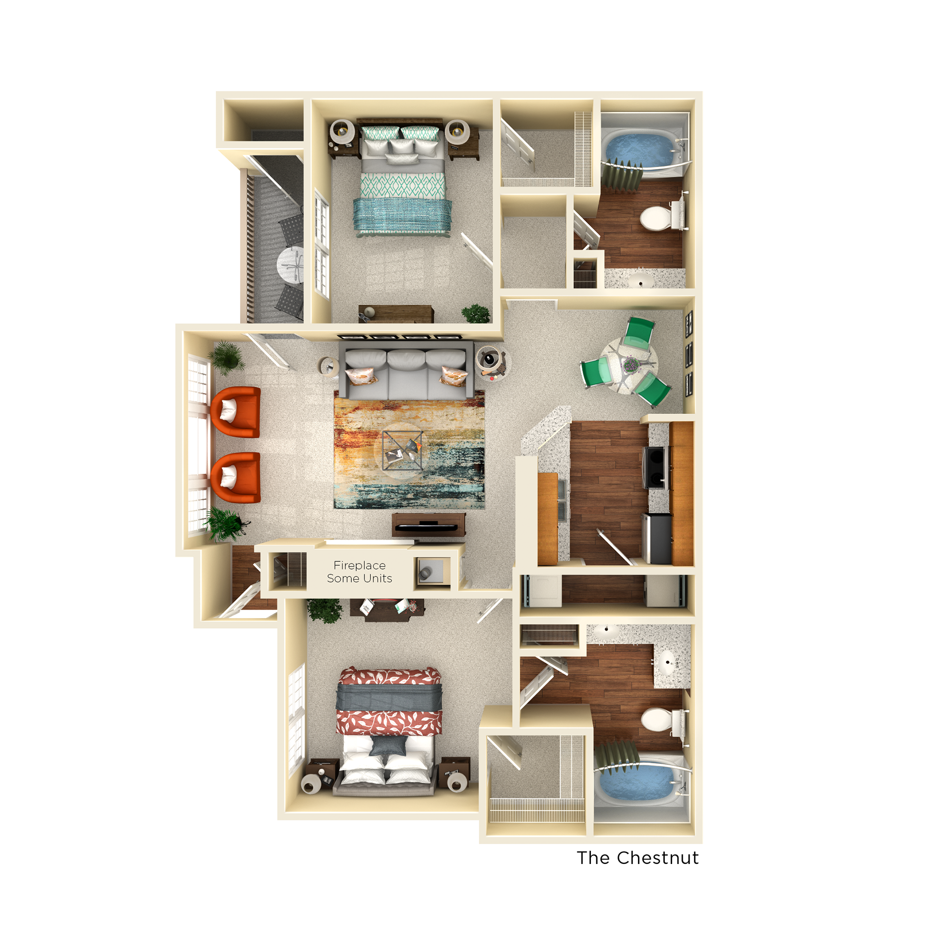 C1 chestnut floor plan