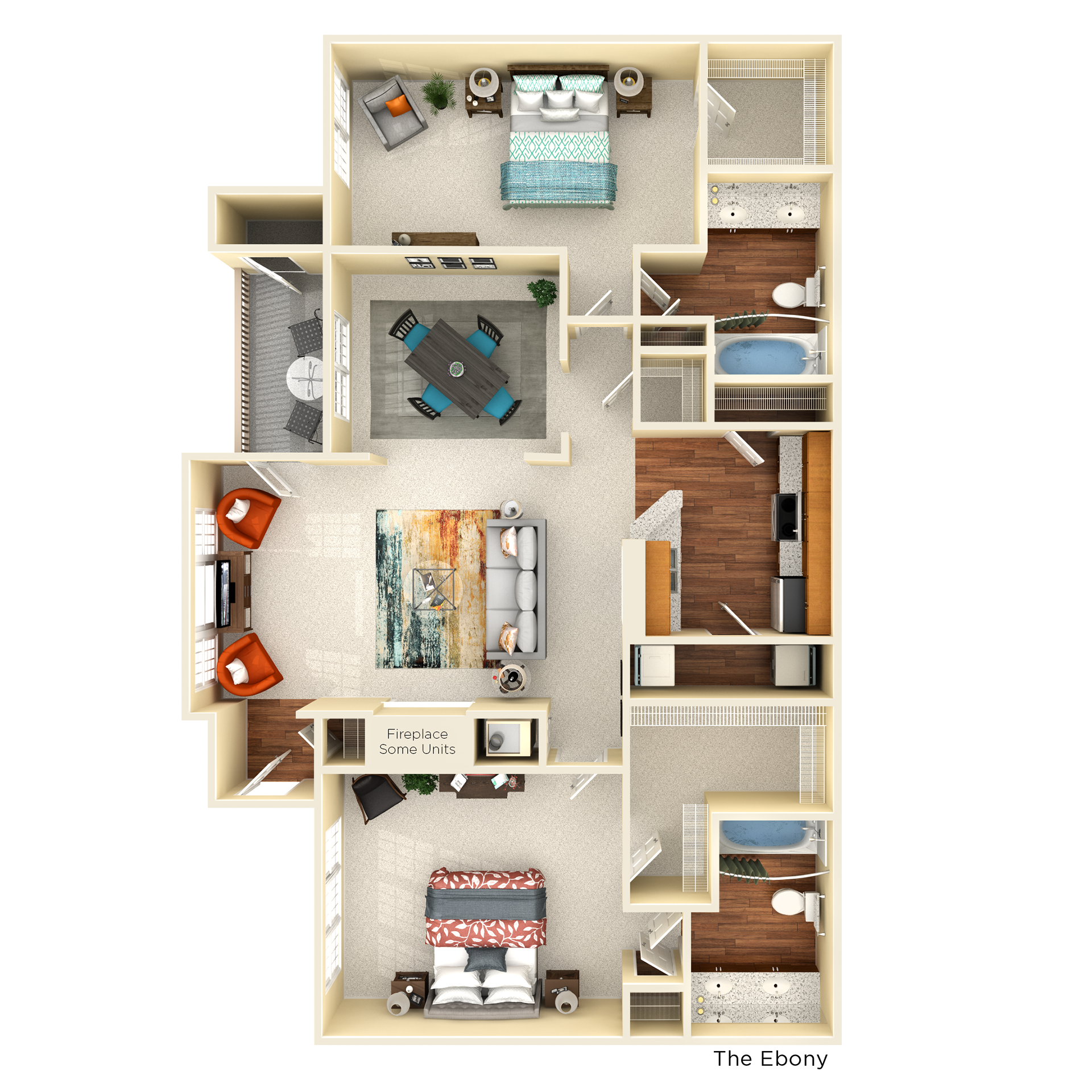 C2 ebony floor plan