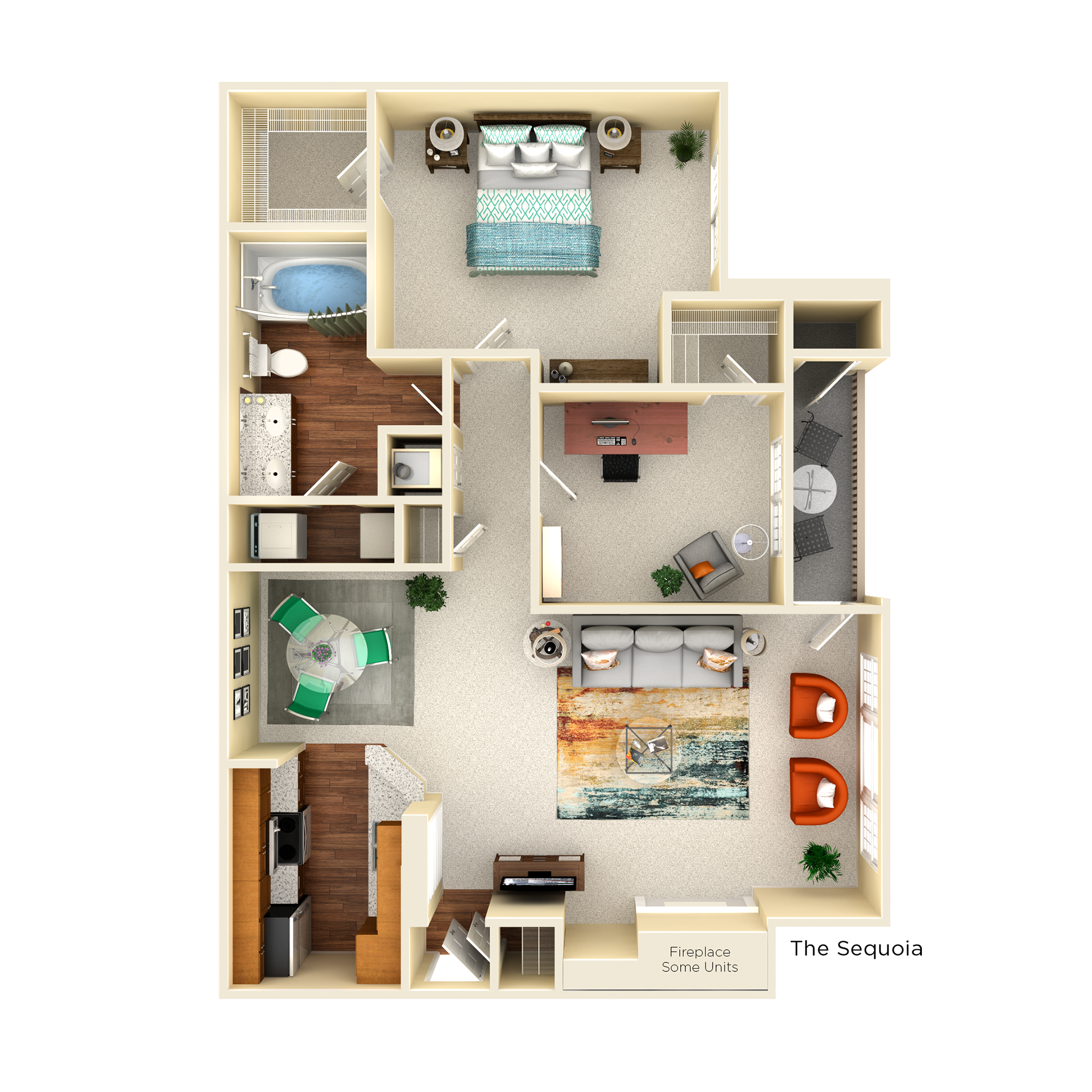 B1 Sequoia floor plan