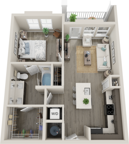 Trails at Hunter's Lake A2 floor plan