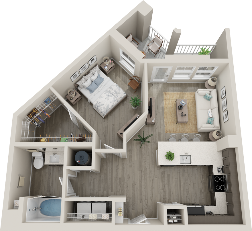 Trails at Hunter's Lake A2C floor plan