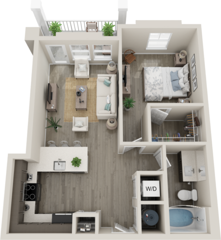 Trails at Hunter's Lake A5 floor plan