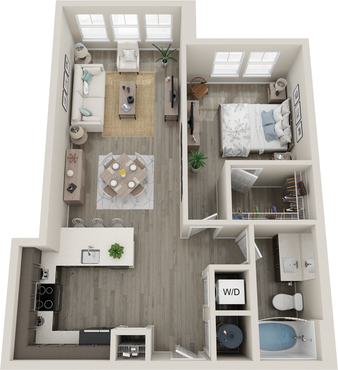 Trails at Hunter's Lake A5S floor plan